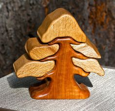 Jewelry Box of Black Oak & Madrone by SierraWoodSculptures on Etsy