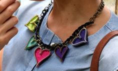 Chunky necklaces! | MODA CAPITAL