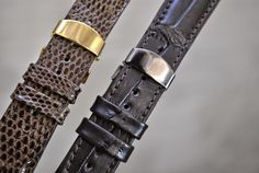 #lizard #alligator #handmade #leather #strap #curea #ceas #piele  Business inquiries & orders at:  ~ christianstraps@gmail.com or cureledeceas@gmail.com   ~ Whatsapp: +40 737 472 022   ~~Instagram: christianstraps Handmade Leather, Fossil, Christian, Belt, Watches, Business, Bracelets, Accessories, Jewelry