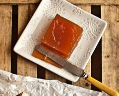 Homemade apple paste is paired with a hearty Manchego cheese in an easy and delicious tapa from Miriam Garcia.
