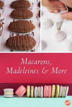 Master macarons, madeleines, tartlets and more in an expert-led, online video class you can revisit anytime, anywhere! Learn the techniques you need to impress and indulge whenever the craving strikes.