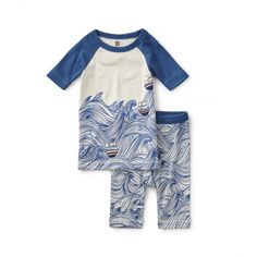 Along the Amalfi Pajamas   Get him set for his sleeping quarters in this pajamas featuring a marvelously maritime motif.