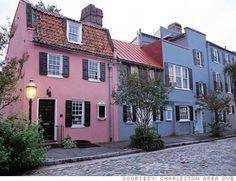 This pink house on the end, I claimed to be mine on my first of many visits to beautiful Charleston, S.C.