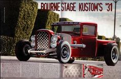 31 Ford Truck customized by Boerne Stage Kustoms