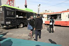 A Food Truck Congregation for the World Financial Center - NYTimes.com Food trucks congregate around Brookfield Place to serve Korean tacos, Gree fries and grilled cheese sandwiches.