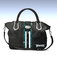 NFL Jewelry and NFL Handbags - Philadelphia Eagles Women's Philly City Chic Handbag