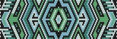 scheme bracelet bead mosaic