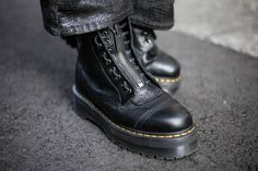 Dr. Martens, Biker, Street Style, Boots, Men, Fashion, Crotch Boots, Moda, Urban Style