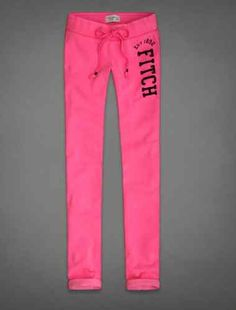 Hollister by Abercrombie Womens Skinny Sweatpants pink new NWT medium $35.00