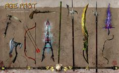 Age Past weapons part 1 Mundane, basic and magical - Age Past - the Incian Sphere table top roleplaying game game design by Jeff Mechlinski art and desi. Age Past weapons 1 Fantasy Weapons, Fantasy Rpg, Medieval Fantasy, Fantasy World, Pathfinder Rpg, Concept Ships, Weapon Concept Art, Game Item, Character Portraits