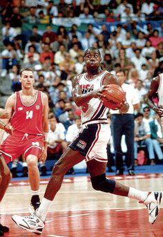 "Earving Magic Johnson USA Basketball Team ""Dream Team"""