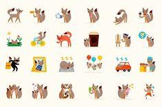 facebook stickers fox
