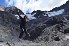 at Glacier Martial in Argentina