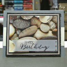Stampin' Up!, By the Tide, Paint sample card