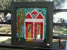 FiredUpStudio Glass mosaic... so much awesome