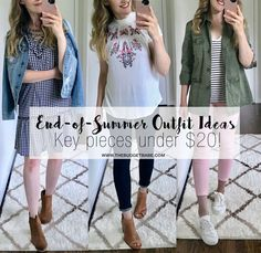 d69561c1c78 End-of-Summer Outfit Ideas with Time and Tru at Walmart