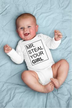 b8690faa3 Mr. Steal Your Girl Baby Onesie or Tee Shirt #new_born # baby # baby_fever