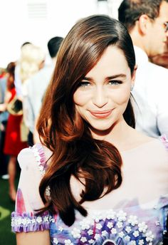 "I was told recently that I looked like Emilia Clarke...this is the first time I've ever believe the whole ""you look like _____ celebrity!"""