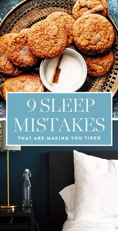 9 Sleep Mistakes That Could Be Causing Your Dark Circles #purewow #wellness #study #tip #health #sleep