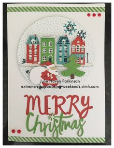 I love the new CTMH City Sidewalks Cricut Collection! It is perfect for Christmas cards and layouts!