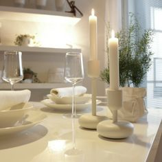<3 Kitchen Dining, Dining Room, Black Wood, A Table, Candle Holders, Kitchens, Candles, Decorating, Feelings