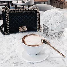 Image de chanel, fashion, and coffee