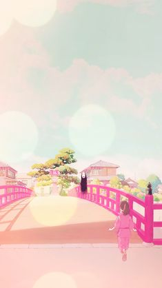 Studio Ghibli Spirited Away Phone Wallpaper