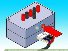 Image titled Create a 12 Volt DC Test Bench for Bullet Cameras Using an Old ATX Computer Power Supply Step 16Bullet1