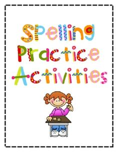 These 15 spelling activities are sure to keep spelling fun and exciting in your classroom! Created for spelling lists of 10 or less words, your stu...