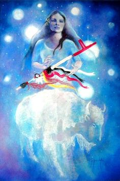 White Buffalo Woman from the Pleiades