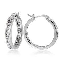 a906fb230e7f8 Tiny Small Sleeper Hoop Earrings for Women Girls Cartilage 925 ...