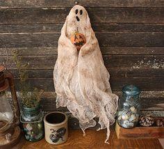 Primitive Halloween Ghost Doll