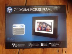 HP Digital Picture Frame for sale online Picture Frames, Digital, Pictures, Ebay, Decor, Portrait Frames, Photos, Decoration, Picture Frame