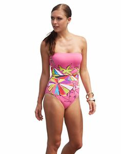 How fun is this beach-umbrella bikini?