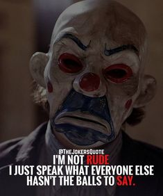 Must Follow @TheJokersQuote @TheJokerSayings For Daily Motivation And Inspirational Quotes #quote #villain #inspiration #motivation #motivational #business #boss #joker #thejoker #jokerfans #jokerlife #jokerlover #whysoserious #jokerquotes #jokerquote #jokerquotesarethebest #kingofgotham #jaredleto #insanity #anarchy #dcvillain