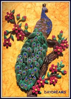 © DayDreams- Quilled peacocks (Searched by Châu Khang)