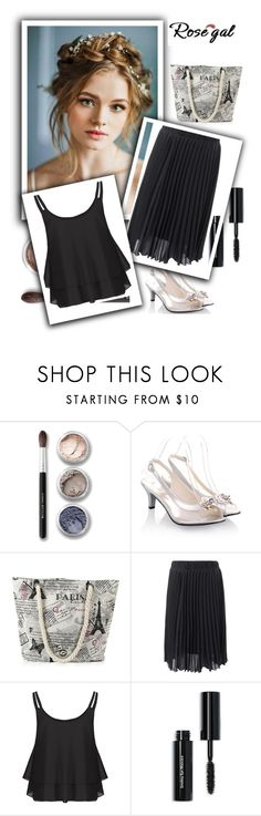 """Rosegal"" by sabine-rose ❤ liked on Polyvore featuring Bare Escentuals and Bobbi Brown Cosmetics"