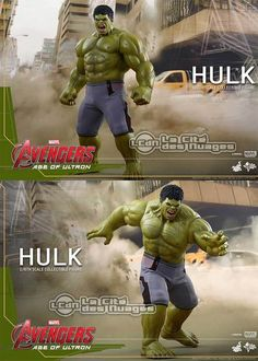 Hot Toys Avengers Age of Ultron Hulk 1/6 Collectible Figurine 42cm Hot Toys