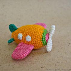 Airplane free crochet pattern