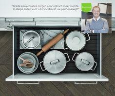 Waarom mensen steeds meer kiezen voor keukenlades?  #KeukenstudioMaassluis #Pinuwdroomkeuken #kitchen #kitchens #kitcheninspiration #keukeninspiratie #inspiratie #maassluis #keukenstudio #keuken #keukenlades #SieMatic