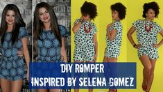 Crazy! but it worked for her! el oh el....DIY Romper Inspired by Selena Gomez | DIY Clothes