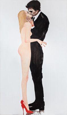 Oil on canvas - Masha Yankovskaya