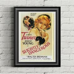 Old Movies, Vintage Movies, Movie Prints, Poster Prints, Robert Young, Romantic Comedy Movies, Lana Turner, Vintage Prints, Old Hollywood