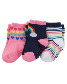 points Weri Spezials Baby and Children Unisex Terry ABS Socks with non-slip soles Red