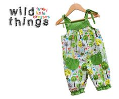 BABY GIRL ROMPER woodland  fairy print sizes by wildthingsdresses, $49.00