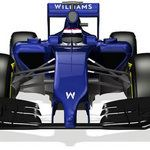 Williams release first front-on shot of 2014 F1 car and unveil the FW36 anteater nose