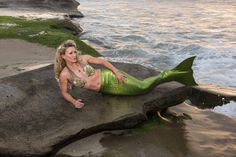 Green With Envy Adult Mermaid Tail With Monofin by MermaidsHaveMoreFun on Etsy https://www.etsy.com/sg-en/listing/278151698/green-with-envy-adult-mermaid-tail-with
