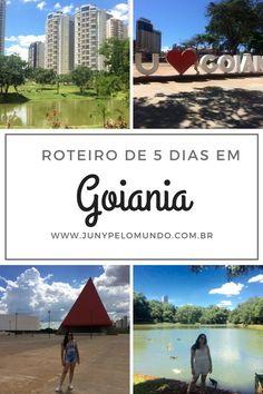 6 atrações para incluir no seu roteiro de Goiânia! Viagem, Brasil, Goiás, Jardim,  Parques, Passeios, Dicas de Viagem
