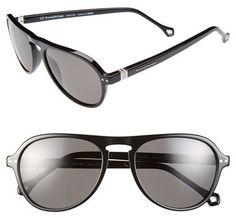 Black Sunglasses by Ermenegildo Zegna. Buy for $385 from Nordstrom
