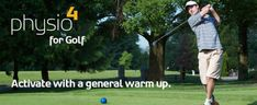 Physiotherapy tips for Golf